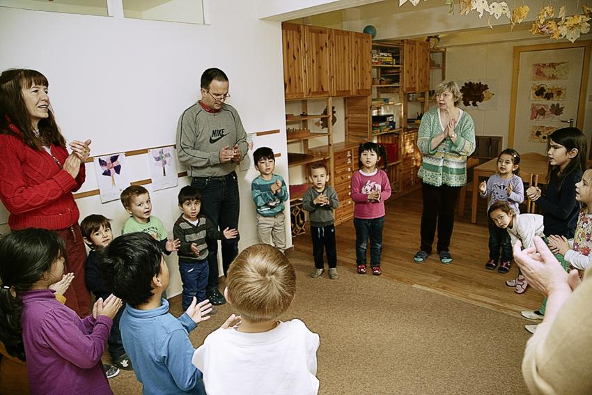 Kindertagesstätte Wurzelkinder Wandsbek Kita Montessori Feste, Feiern. Rituale